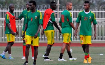 CAN-2015 : les Diables rouges s'entrainent sans Douniama et Bifouma