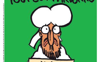 France : Mahomet en une du «Charlie Hebdo» de mercredi