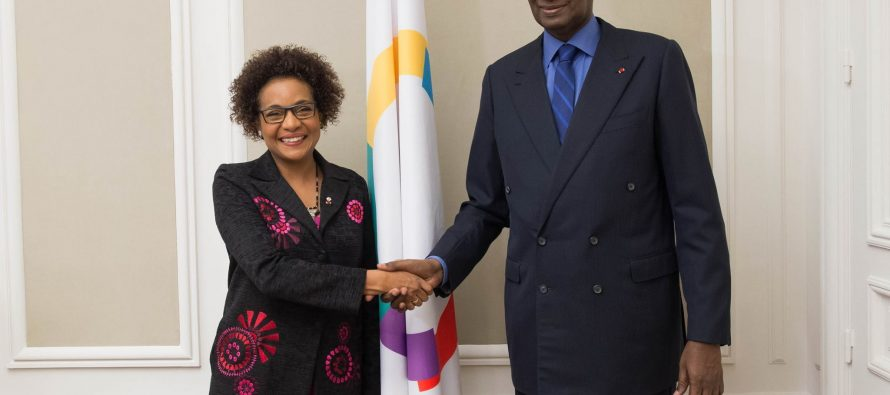Francophonie: La nouvelle secrétaire générale Michaëlle Jean a pris ses fonctions à la tête de l'OIF