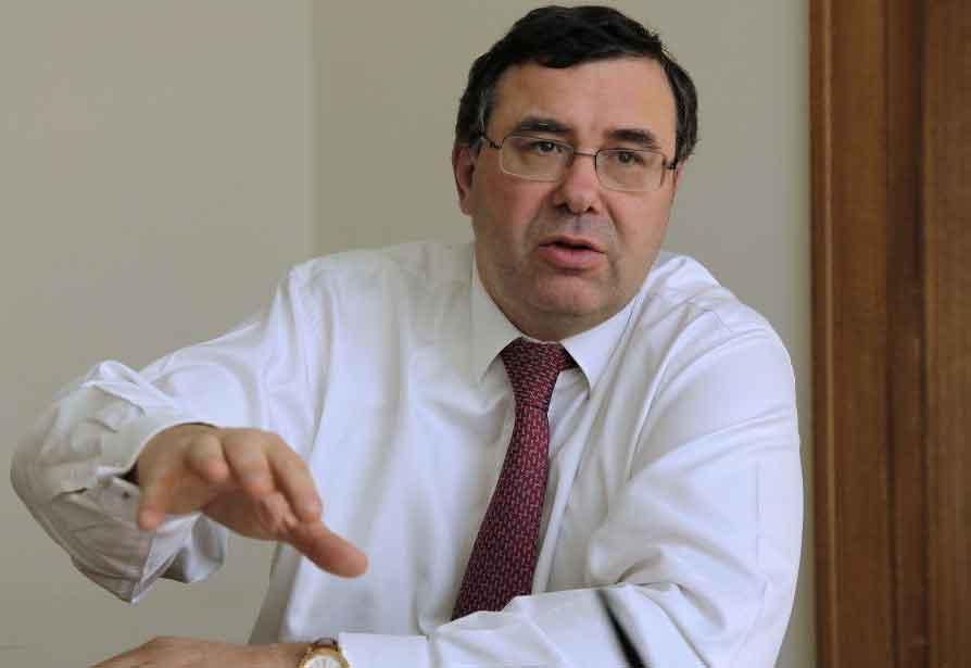 le nouveau directeur général du groupe Total Patrick Pouyanné