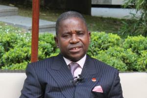 Pierre Ngolo, secrétaire général du Parti congolais du travail