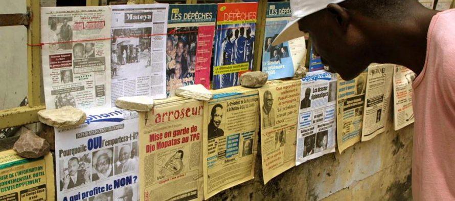 La presse congolaise connait des difficultés de tous ordres selon M. Mackiza