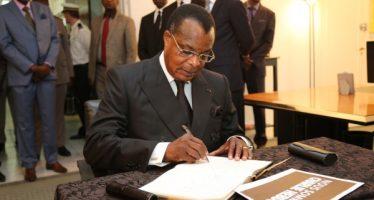 Charlie Hebdo : Denis Sassou N'Guesso condamne «l'odieuse agression contre la France»