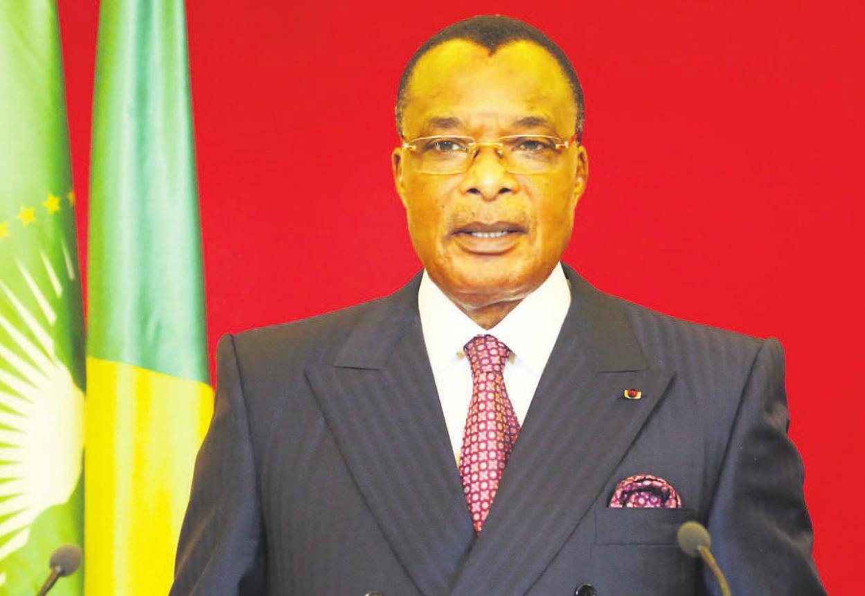 Le chef de l'Etat congolais, Denis Sassou N'Guesso