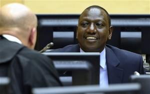 Le vice-président kenyan William Ruto à la Cour Pénale Internationale