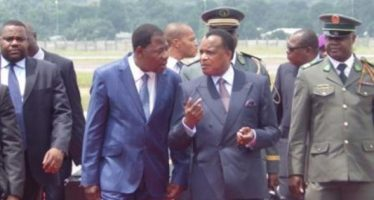 Le président béninois Yayi Boni en visite de travail à Brazzaville