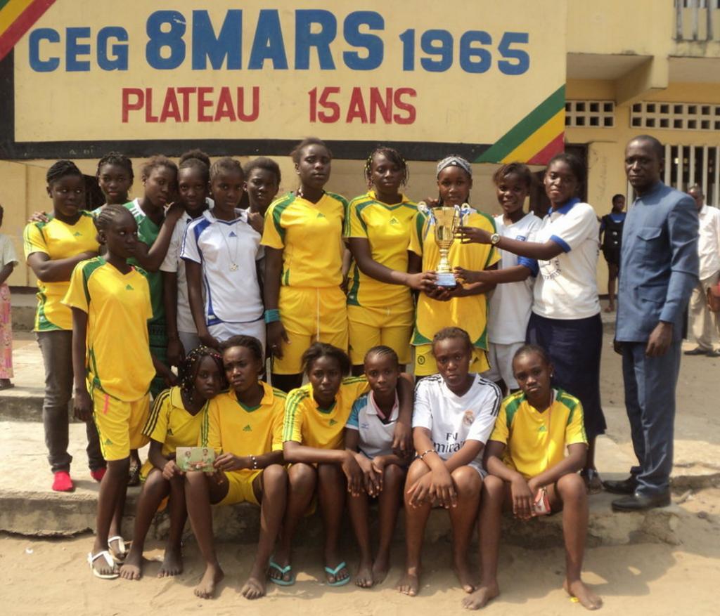 Tournoi inter-scolaire de Ndzango : le collège 8 mars vainqueur de la compétition