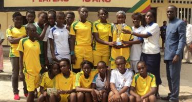 Brazzaville-Tournoi inter-scolaire de Ndzango : le collège 8 mars vainqueur de la compétition