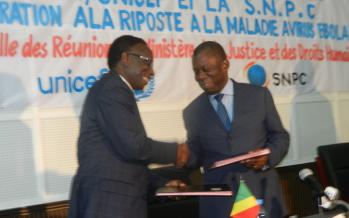 La Société nationale des pétroles du Congo appuie la lutte contre Ebola