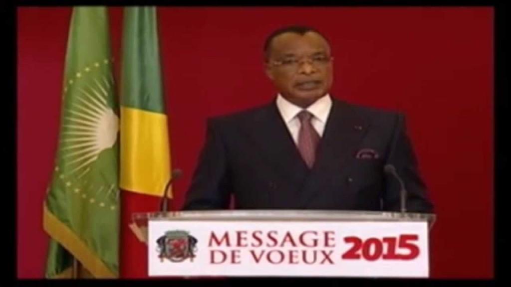 VIDÉO – MESSAGE DE VŒUX 2015 du le président congolais Sassou N'guesso