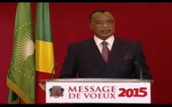 VIDÉO – MESSAGE DE VŒUX 2015 du président congolais Sassou N'guesso