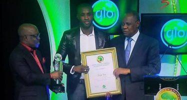 Yaya Touré, élu meilleur joueur africain 2014, entre dans l'histoire