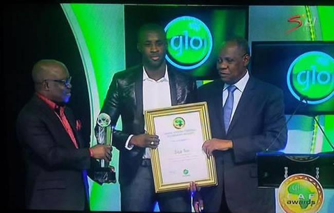 Pour la quatrième année consécutive, l'Ivoirien Yaya Touré a décroché le titre de Meilleur joueur africain 2014