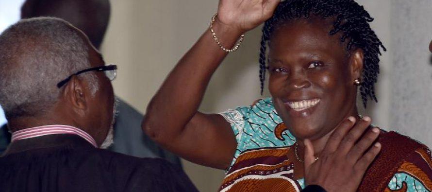 Côte d'ivoire: Simone Gbagbo véhémente à son procès après quatre ans de silence