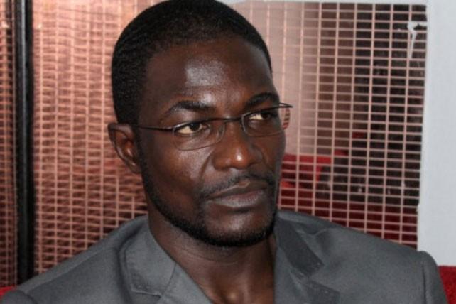 Le ministre centrafricain de la Jeunesse et des Sports,Armel Sayo