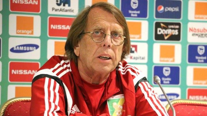 Le sélectionneur du Congo-Brazzaville, Claude Le Roy