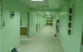 Brazzaville : Dans un hôpital, une kinésithérapeute affectée au service des maladies métaboliques