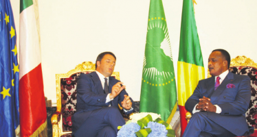 Coopération : visite en Italie du président Denis Sassou Nguesso centrée sur l'économie