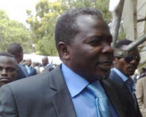 Frédéric Bintsamou, alias «Pasteur Ntumi», président du C.N.R (Conseil national des républicains)