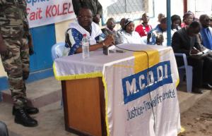 Guy-Brice Parfait Kolelas, le secrétaire général de ce parti, actuel ministre de la fonction publique et de la réforme de l'Etat