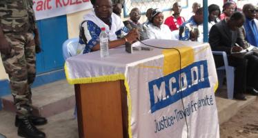 Election présidentielle de 2016 : Le M.C.D.D.I a décidé de présenter son candidat, à l'issue de son congrès!