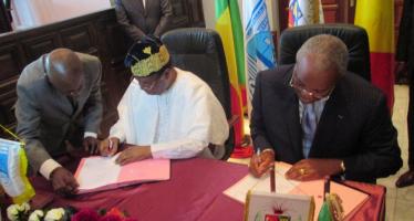 Un accord de partenariat signé entre Brazzaville et Cotonou