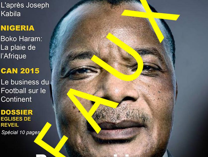 la fausse une de Jeune Afrique qui affole le web
