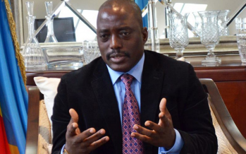 RDC: le président Kabila présente ses condoléances au peuple Français