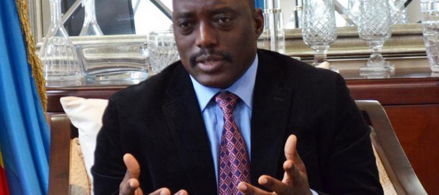 Kabila : «Je suis prêt pour les élections, même demain. Je ne vous ai jamais demandé de réviser la constitution.»