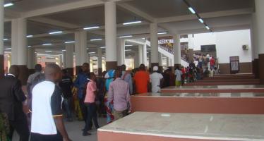 Brazzaville – Marché Total : l'espace de vente rénové