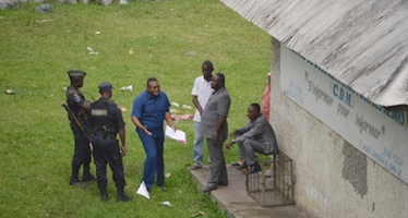 Le siège du Centre de documentation pour les médias détruit à Brazzaville