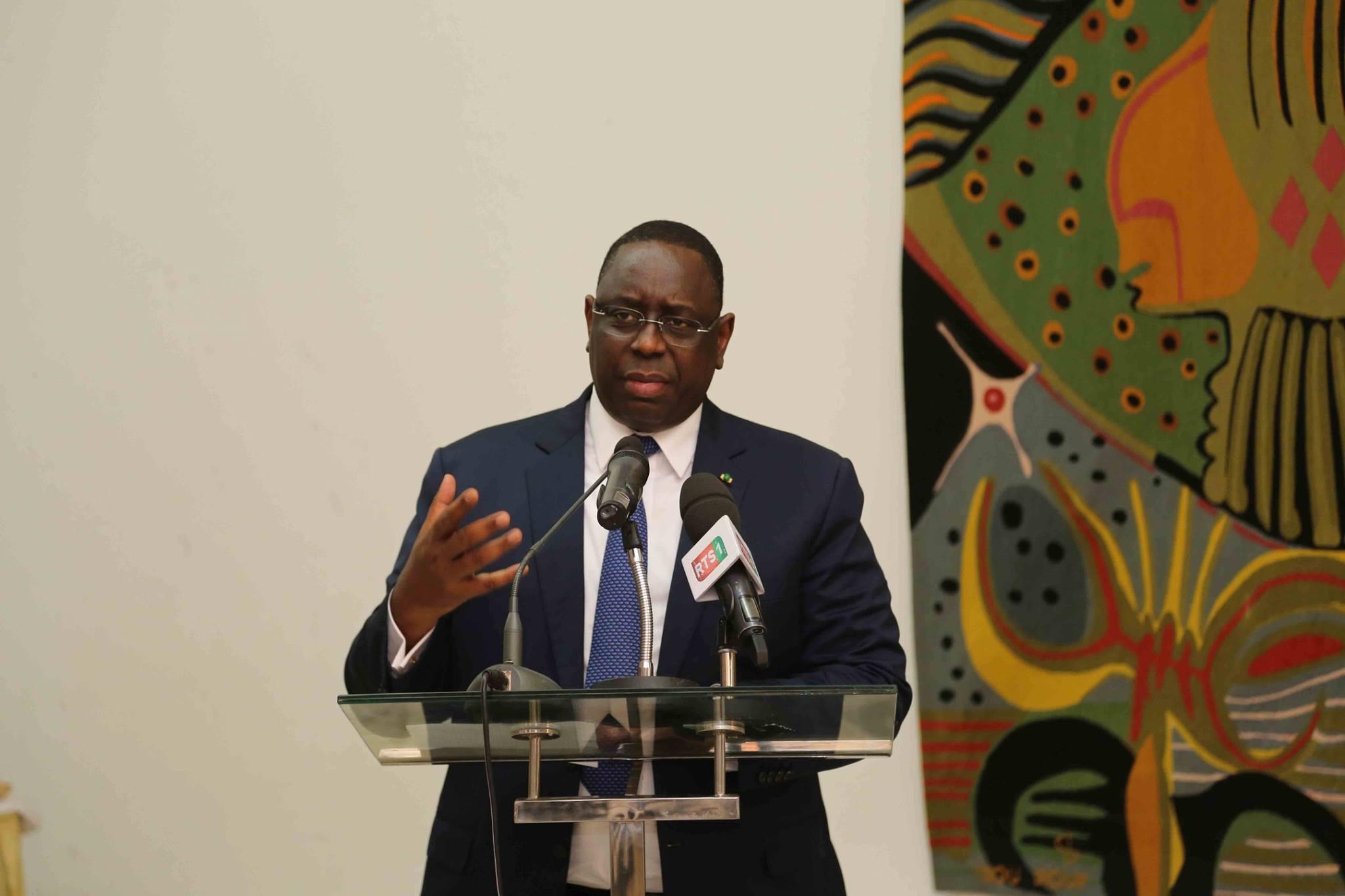 Le président sénégalais, Macky Sall