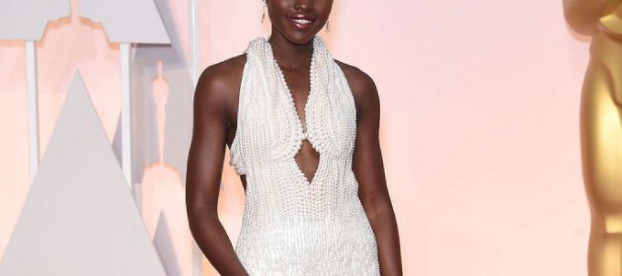 Lupita Nyong'o, une actrice d'origine kenyane, se fait voler une robe de 150000 dollars