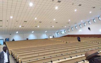 Congo : Sassou N'Guesso inaugure des amphithéâtres modernes de l'université Marien Ngouabi