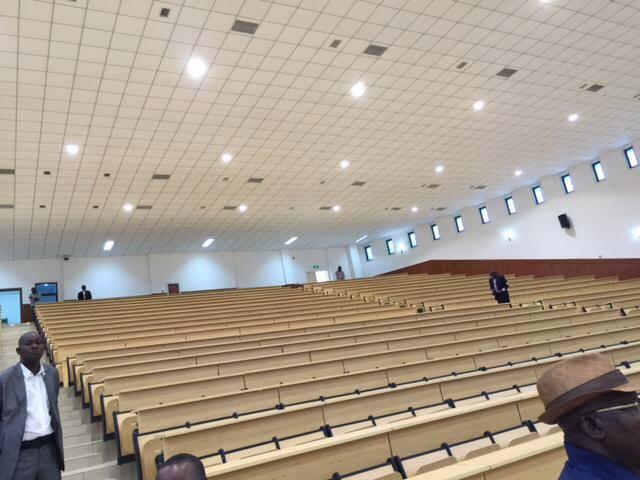 Denis Sassou N'Guesso inaugure des amphithéâtres modernes de l'université Marien Ngouabi