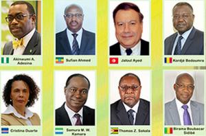 La liste officielle des candidats à l'élection du prochain président de la Banque africaine de développement (BAD)