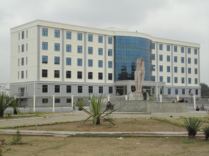 Image d'archive|L'hôtel de préfecture de Brazzaville