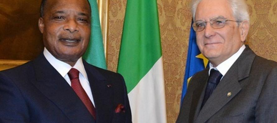 Denis Sassou Nguesso entend renforcer la coopération économique et commerciale avec l'Italie