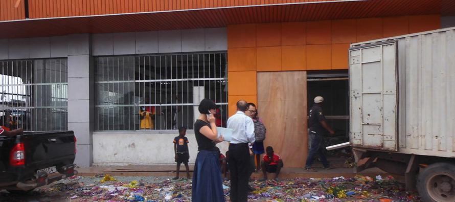 Brazzaville – super marché Asia : les dégâts matériels évalués à près de 400 millions FCFA