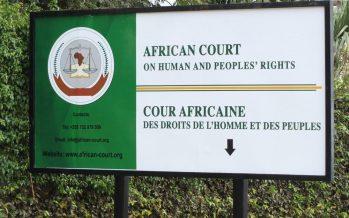 Commission africaine des droits de l'homme et des peuples : La plainte de la famille Ngambio-Ntsalakoua contre l'Etat congolais jugée recevable