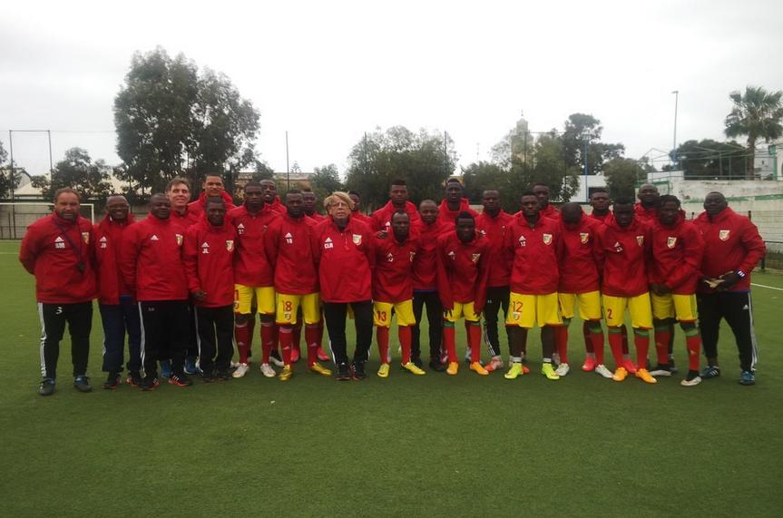 Les Diables rouges U-23 au Maroc