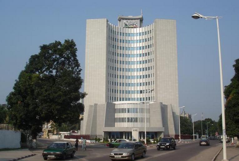 Immeuble|la Société nationale des pétroles du Congo (SNPC)