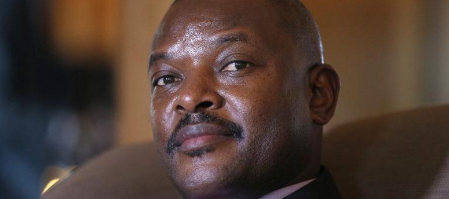 Burundi: le président burundais Pierre Nkurunziza candidat à un 3ème mandat
