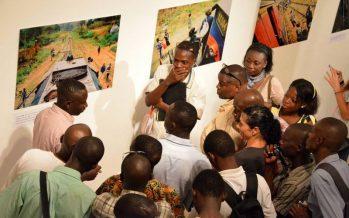 Congo : Arnaud Makalou fait découvrir la longue traversée du CFCO au public