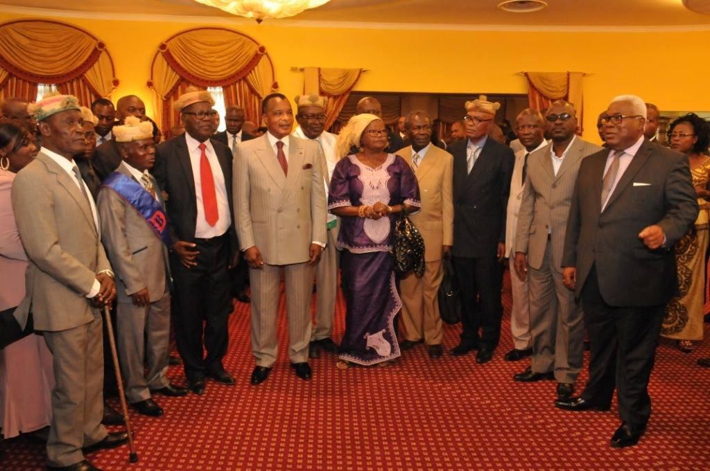 Sassou N'Guesso et les sages du Kouilou et Pointe-Noire