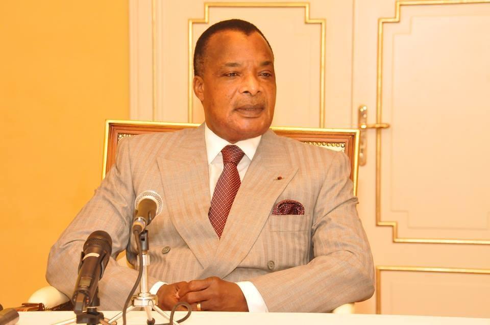 Le président congolais Dénis Sassou-Nguesso
