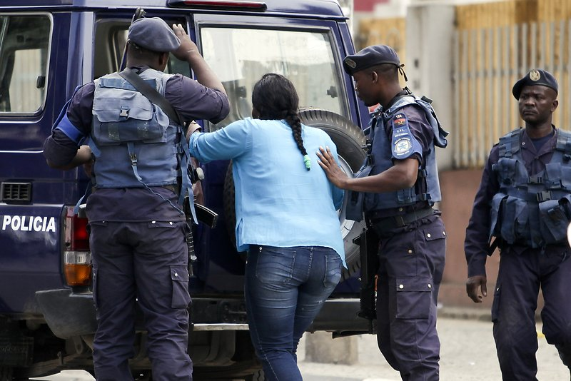 la police angolaise