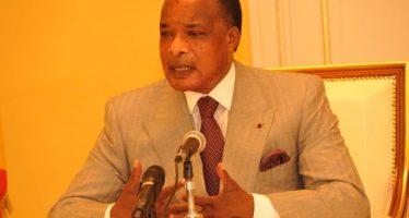 Sassou : «Il n'est pas question que notre pays replonge dans des violences du fait des querelles politiques»