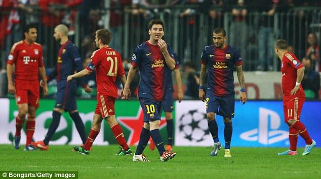 Un choc de titans Barcelone-Bayern