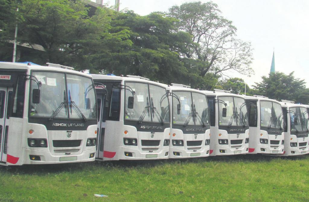 Les Brazzavillois et Ponténégrins impatients d'attendre les nouveaux bus publics